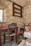 Interior de la casa vieja Imagenes de archivo