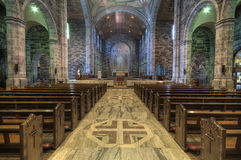 Interior de la catedral Fotos de archivo