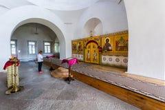 Interior de la catedral cruzada santa 1763 en el ` s de San Jorge Imágenes de archivo libres de regalías