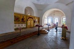 Interior de la catedral cruzada santa 1763 en el ` s de San Jorge Imagen de archivo libre de regalías