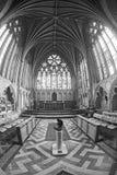 Interior de la catedral de Exeter Imagen de archivo libre de regalías