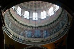 Interior de la catedral de Kazan Fotos de archivo libres de regalías