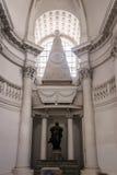 Interior de la catedral de la abadía Imagenes de archivo