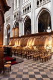 Interior de la catedral de la cruz santa, American National Standard del ½ del ¿de Orlï Foto de archivo libre de regalías