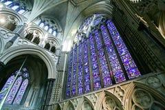 Interior de la catedral de Lincoln Imagenes de archivo