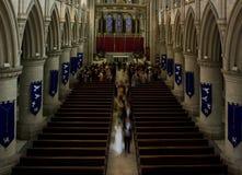 Interior de la catedral de Norwich Foto de archivo