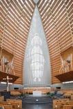 Interior de la catedral de Oakland de Cristo la luz Imagen de archivo libre de regalías