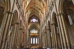 Interior de la catedral de San Juan de Lyon Fotografía de archivo