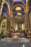 Interior de la catedral de San Lorenzo. Fotos de archivo