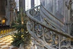 Interior de la catedral de Stephansdom en Viena, Austria Fotos de archivo libres de regalías