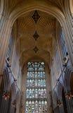 Interior de la catedral del baño Fotografía de archivo libre de regalías