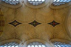 Interior de la catedral del baño Fotos de archivo