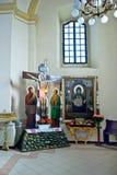 Interior de la catedral del ` s de San Jorge Imagen de archivo libre de regalías