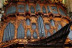 Interior de la catedral metropolitana IV Fotografía de archivo libre de regalías