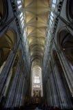 interior de la catedral Notre Dame, Amiens, Picardía, Francia fotos de archivo libres de regalías