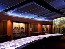 Interior de la ciudad Kansas Missouri del museo de la Primera Guerra Mundial imagen de archivo