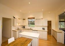 Interior de la cocina Foto de archivo