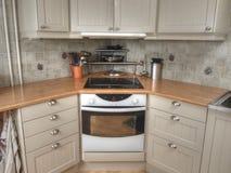 Interior de la cocina Fotografía de archivo libre de regalías