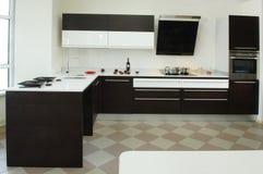Interior de la cocina Fotografía de archivo