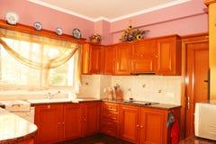 Interior de la cocina Fotos de archivo libres de regalías