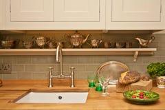 Interior de la cocina Imagen de archivo