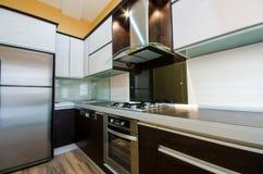 Interior de la cocina Imagenes de archivo