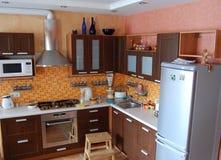 Interior de la cocina Fotos de archivo