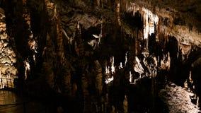 Interior de la cueva aka Postojnska jama, Eslovenia de Postojna fotografía de archivo