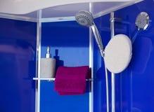 Interior de la ducha Fotografía de archivo libre de regalías