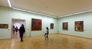 Interior de la ermita del estado. St Petersburg Fotos de archivo libres de regalías
