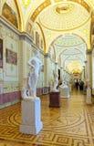 Interior de la ermita del estado. St Petersburg Foto de archivo