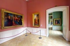 Interior de la ermita del estado. St Petersburg Fotos de archivo