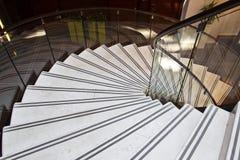 Interior de la escalera fotos de archivo