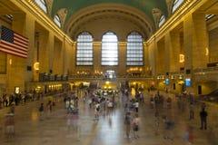Interior de la estación central magnífica en New York City foto de archivo libre de regalías