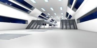 Interior de la estación espacial Fotografía de archivo libre de regalías