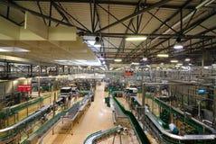 Interior de la fábrica Imágenes de archivo libres de regalías