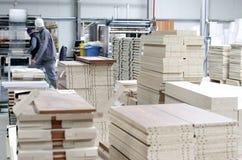Interior de la fábrica de los muebles Fotografía de archivo