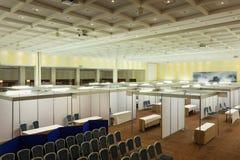 Interior de la feria profesional Imagen de archivo