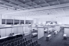 Interior de la feria profesional Fotografía de archivo libre de regalías
