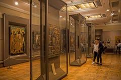 Interior de la galería de Tretyakov del estado en Moscú Fotografía de archivo libre de regalías