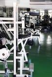 Interior de la gimnasia Fotografía de archivo