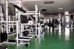 Interior de la gimnasia Fotos de archivo
