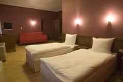 Interior de la habitación de hotel Imagen de archivo libre de regalías