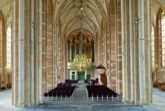 Interior de la iglesia Imagen de archivo libre de regalías