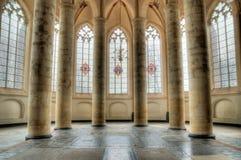 Interior de la iglesia Fotografía de archivo libre de regalías