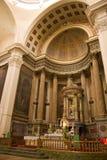 Interior de la iglesia Imágenes de archivo libres de regalías