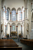 Interior de la iglesia Colonia del St Kunibert Fotos de archivo