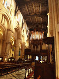 Interior de la iglesia de Cristo, Oxford Imagen de archivo libre de regalías
