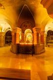 Interior de la iglesia de la abadía de Dormition Ciudad vieja jerusalén Israel Foto de archivo libre de regalías