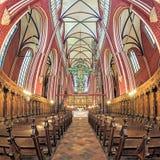 Interior de la iglesia de monasterio de Doberan en mún Doberan, Alemania Imagen de archivo libre de regalías